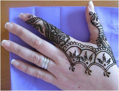 Easy Simple Mehndi Designs