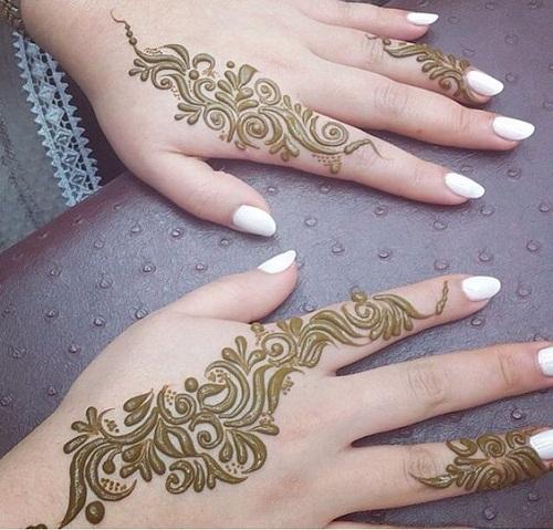 Enchanting Arabic Mehndi Designs