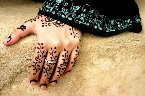 Leaves Simple Mehndi Designs