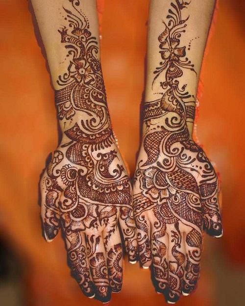 New Arabic Mehndi Designs