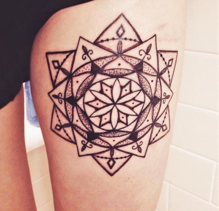 Leg Mandala Tattoo: Body Modification Story