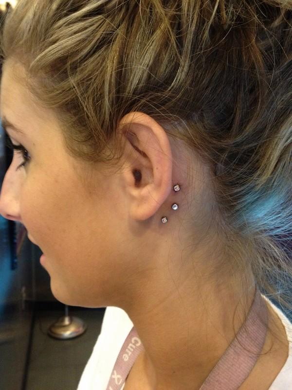 Behind The Ears Piercing