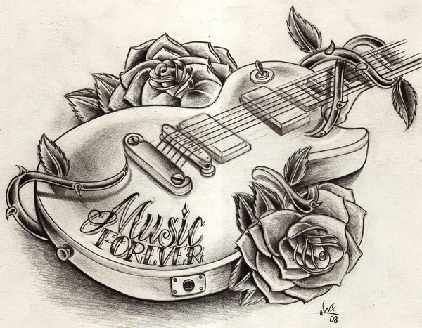 Tattoo Drawings Of Roses