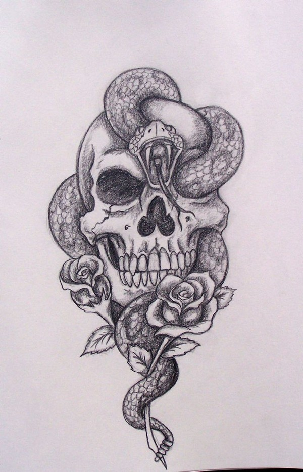 Tattoo Drawings On Paper