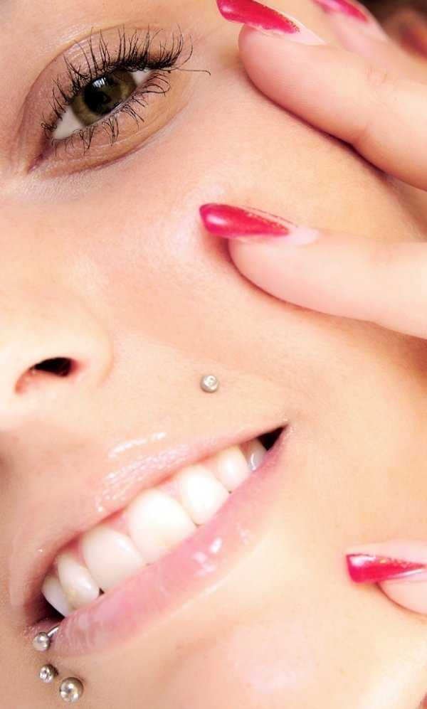 beautiful monroe piercing