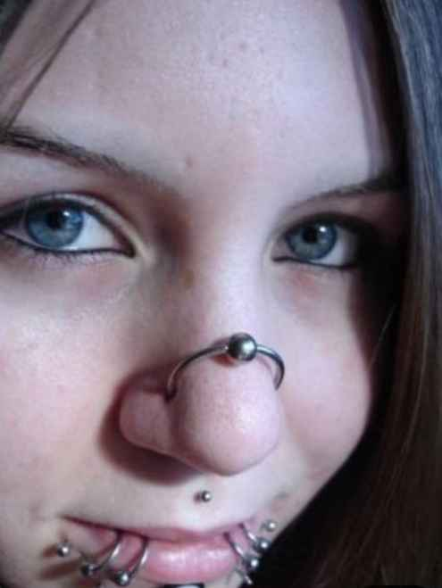 9 Types Of Nose Piercings Explained With Info And Images