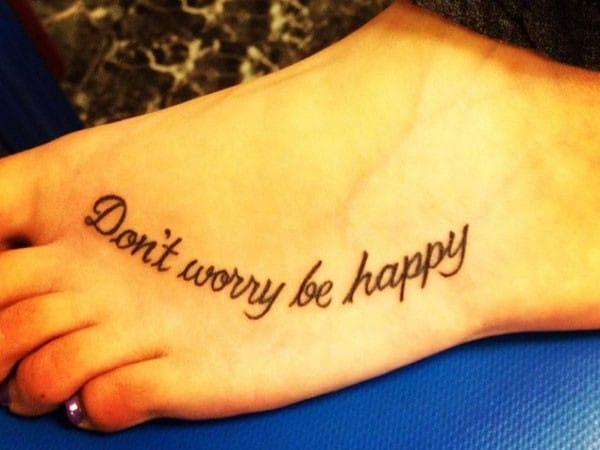 first tattoo quote