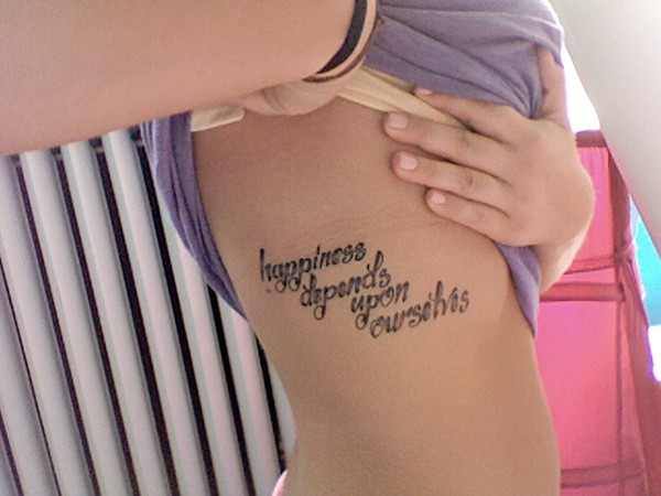 glorious love tattoo quote