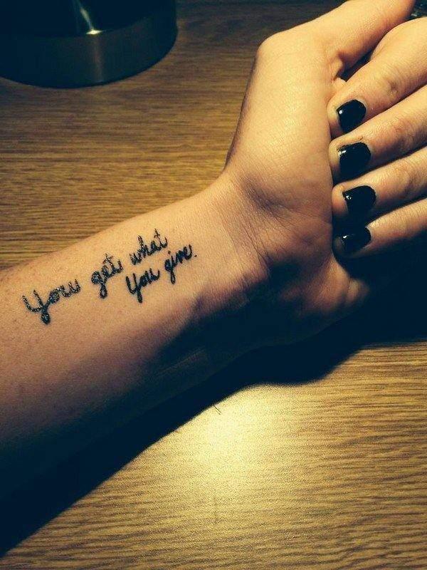 short tattoo quotes
