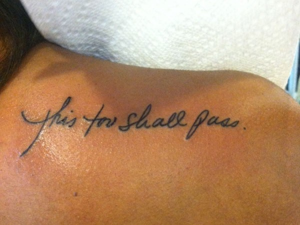 small tattoo sayings