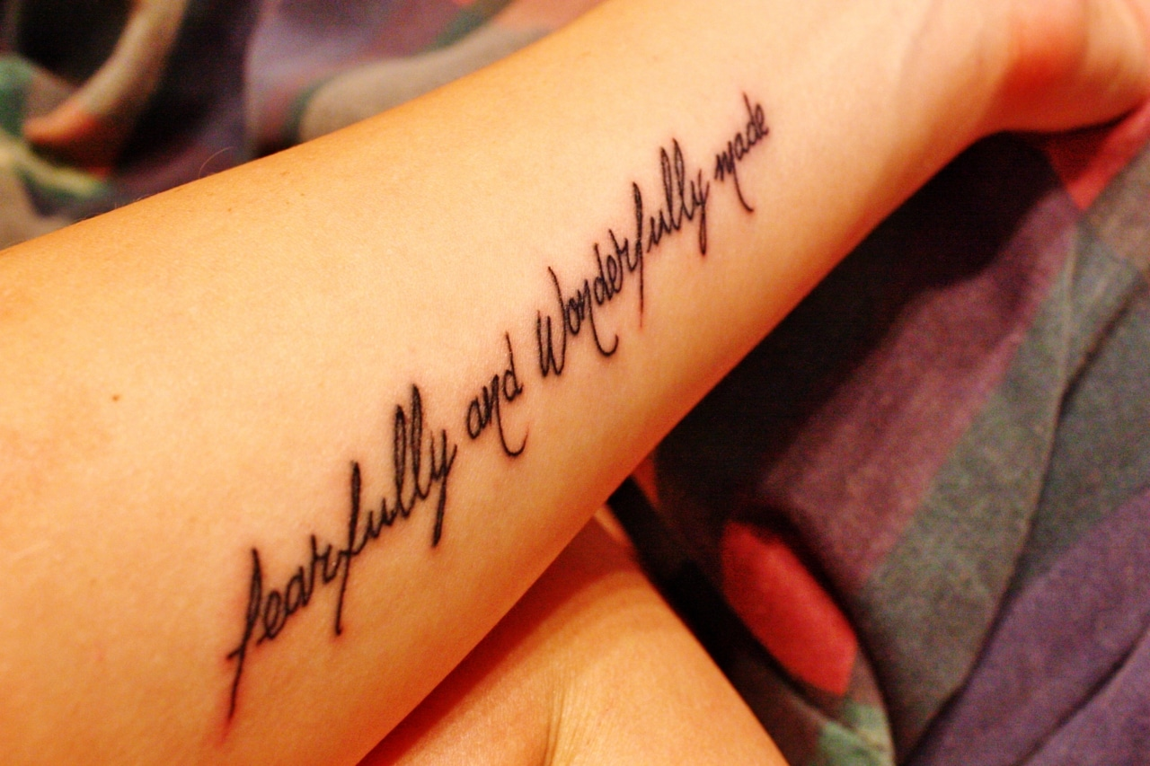 wonderful tattoos design quotes