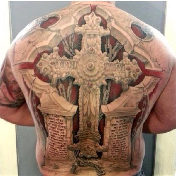 3D Cross Tattoos