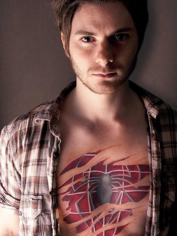 3D Spiderman Tattoo