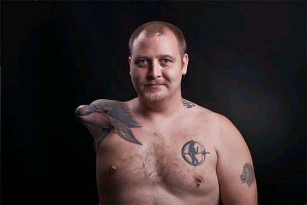 3D Tattoos On Shoulder