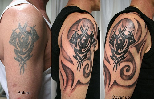 Cover Tribal Tattoos