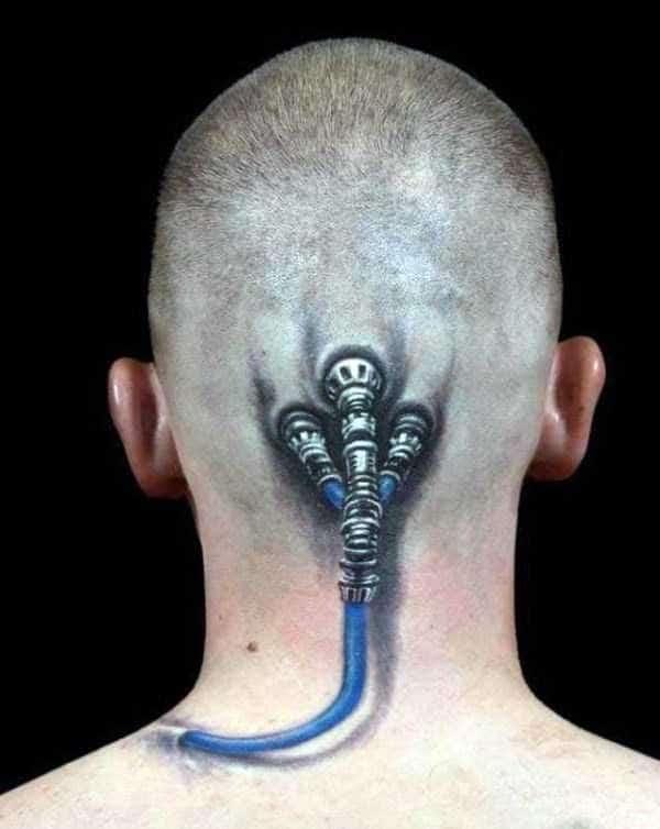 Frightening Tattoo