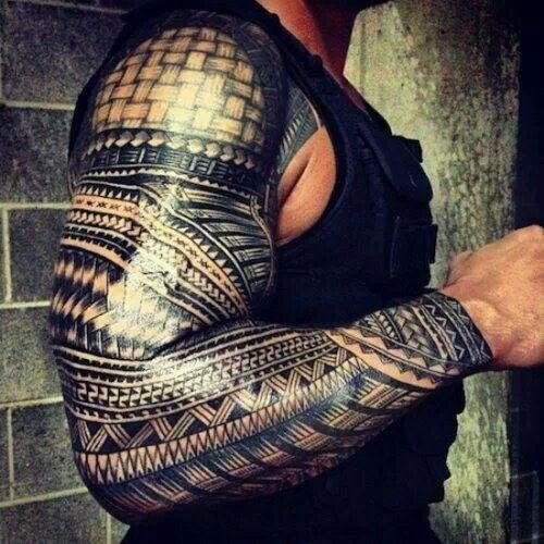 Hardcore Tribal Tattoos