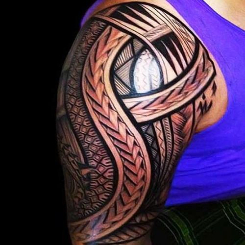 Hawaiian Band Tribal Tattoos