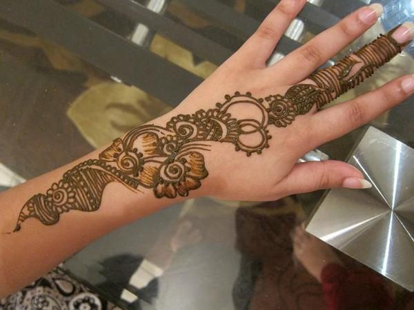Henna Bridal Design