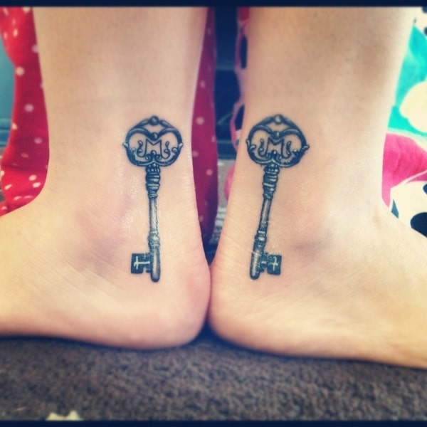 Matching Sisters Tattoos