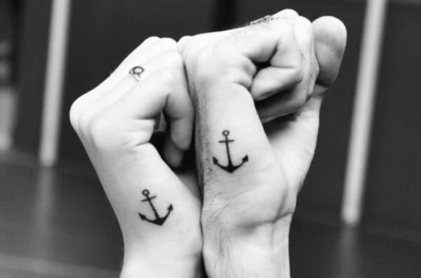 Anchor Matching Tattoos