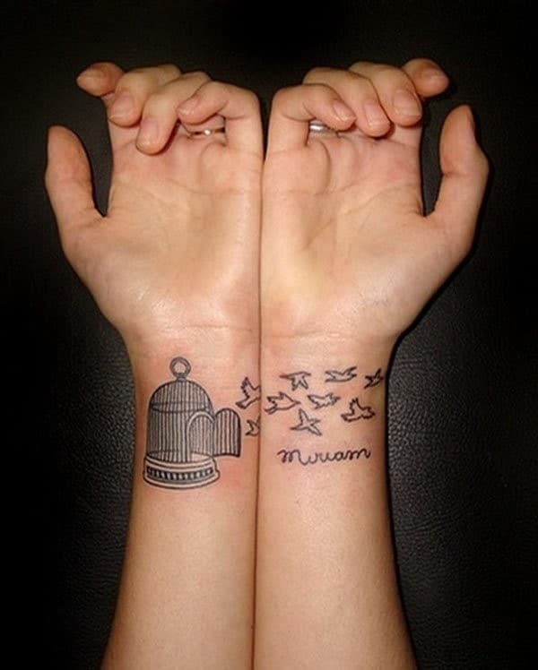 Best Friends Matching Tattoo