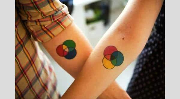 Boyfriend Girlfriend Matching Tattoos