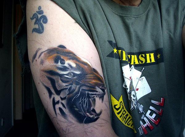 Cross Tattoos Guys