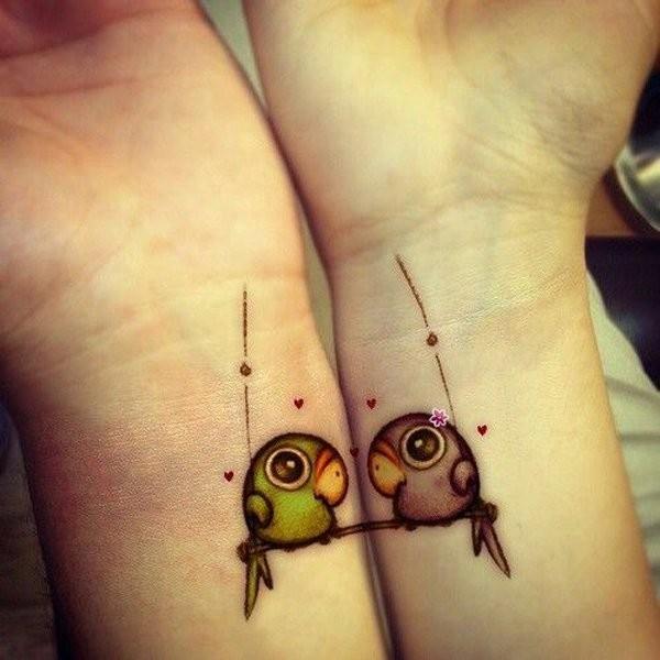 Cute Matching Tattoo Ideas