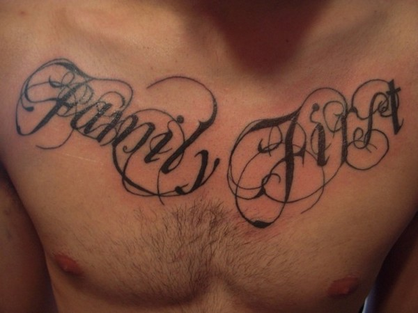 Family Tattoos Designs For Men