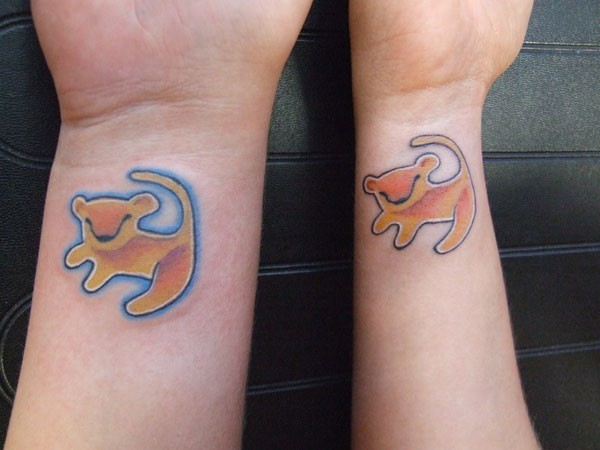 Fantastic Matching Tattoo