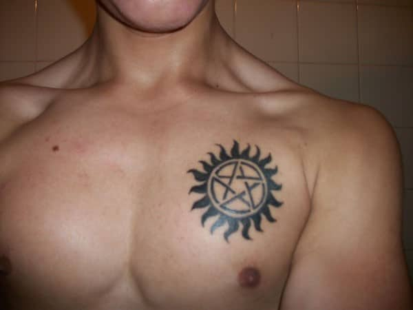 Guy Star Tattoos