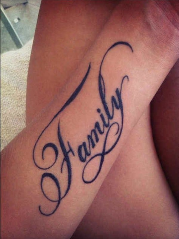 Inspiring Word Tattoos