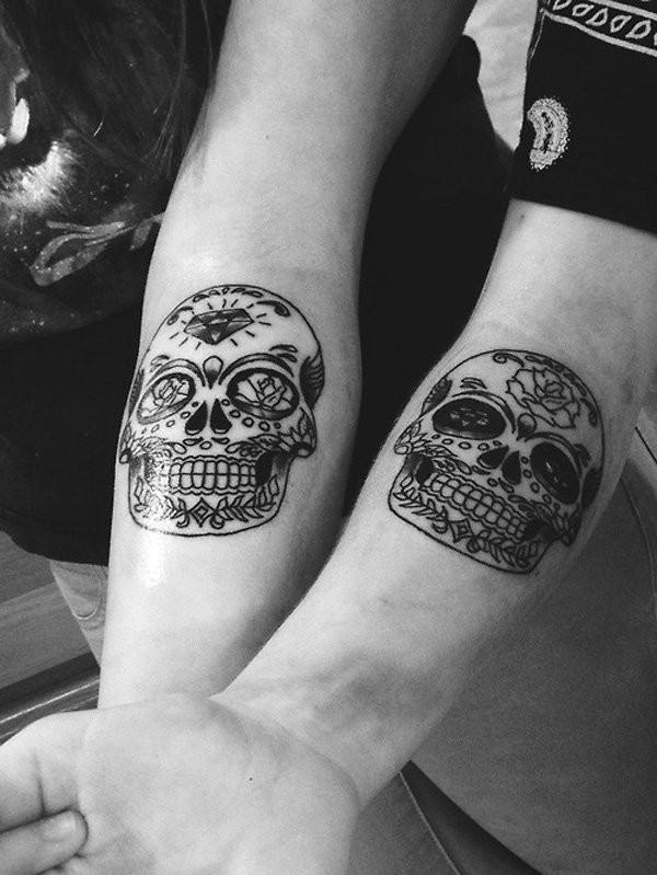 Matching Tattoo Ideas For Best Friends