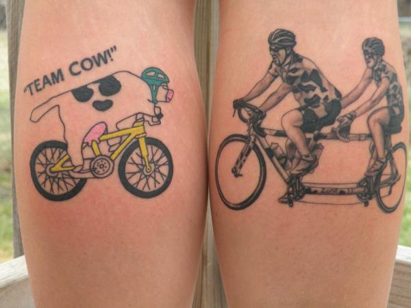 Puzzle Tattoos For Couples