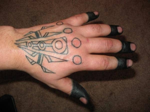 Star Tattoos Hands