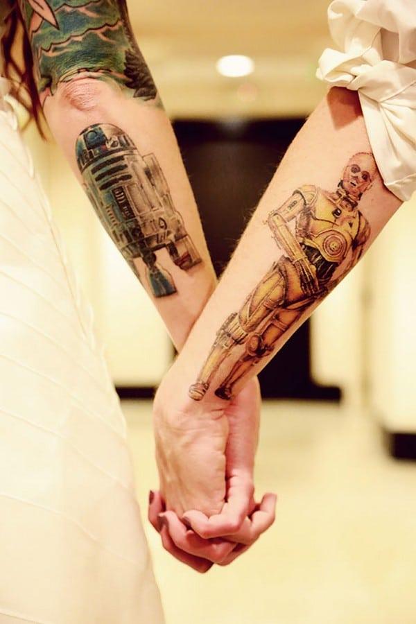 Star Wars Matching Tattoo