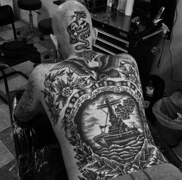 Tattoos For Mens Back