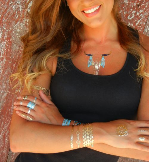 Temporary Tattoos Letters