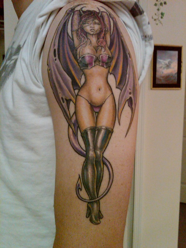 3D Angel Tattoos