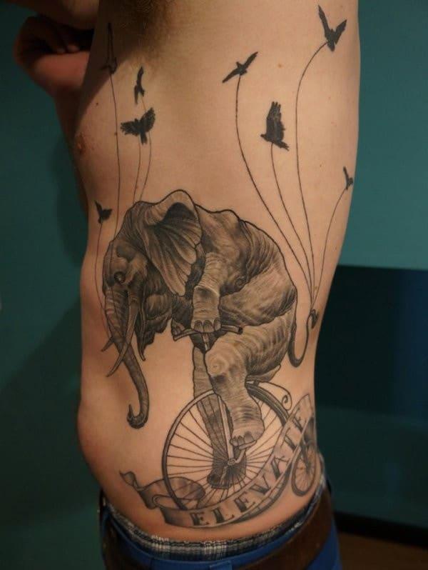 African Elephant Tattoos