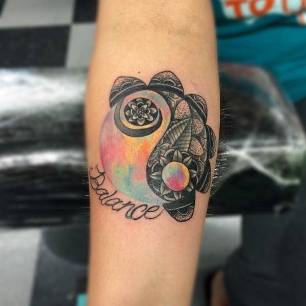 Amazing Yin Yang Tattoos