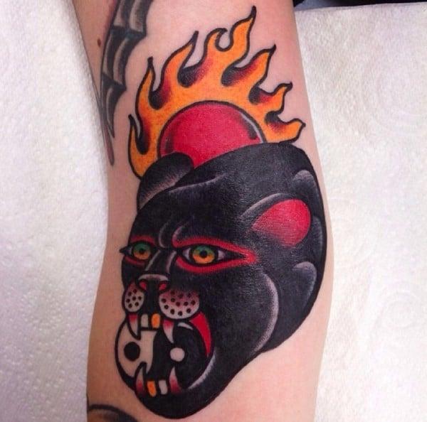 Attractive Yin Yang Tattoo
