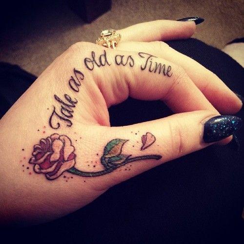 Disney Quote Tattoos
