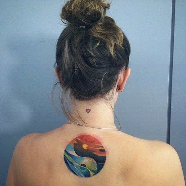 Cool Ying Yang Tattoos
