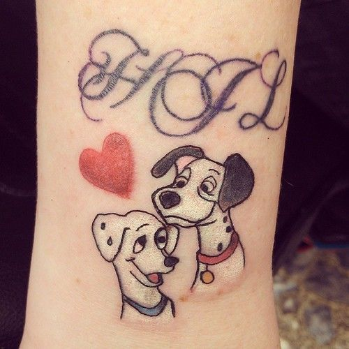 Disney Tattoos With Names