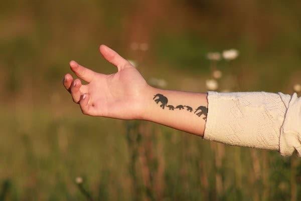 Elephant Tattoo Designs Ideas