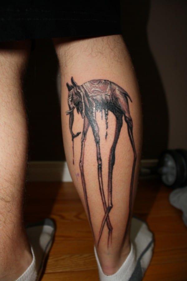 Elephant Tattoo On Chest