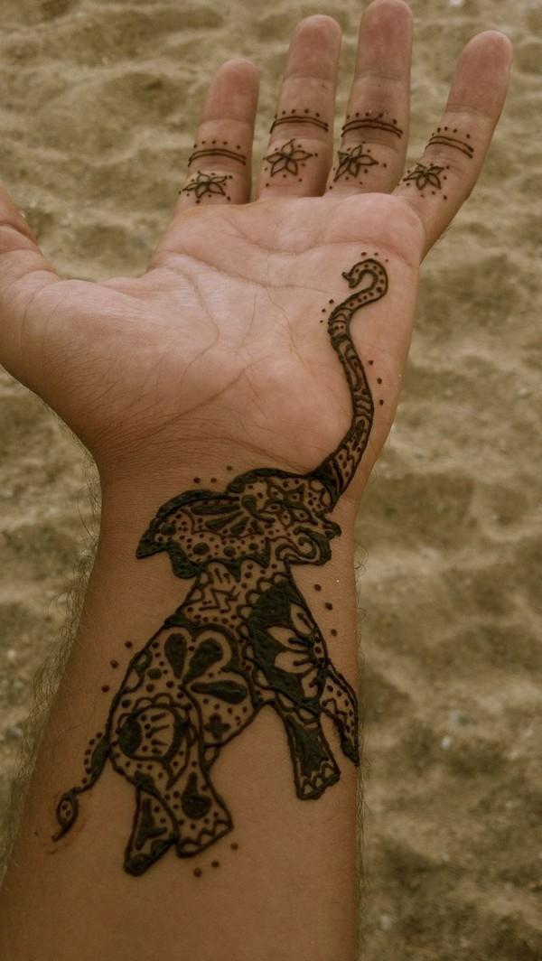 Elephant Tattoo Pinterest