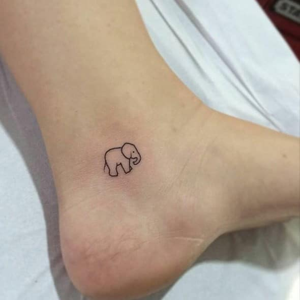 Elephant Tattoos Meaning